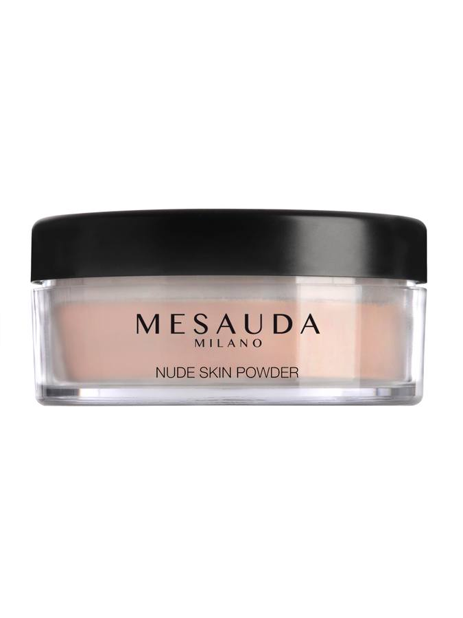 Mesauda Milano Nude Skin Powder Natural Loose Powder (9 g), Tan