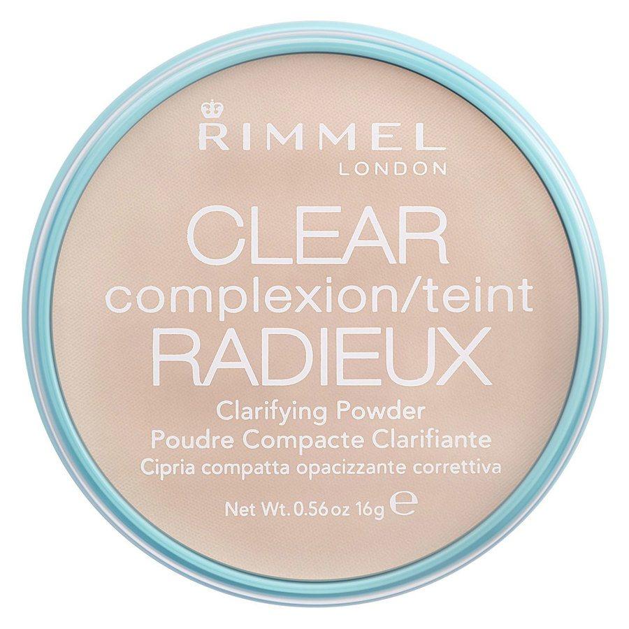 Rimmel London Clear Complexion Clarifying Powder, Transparent (16 g)