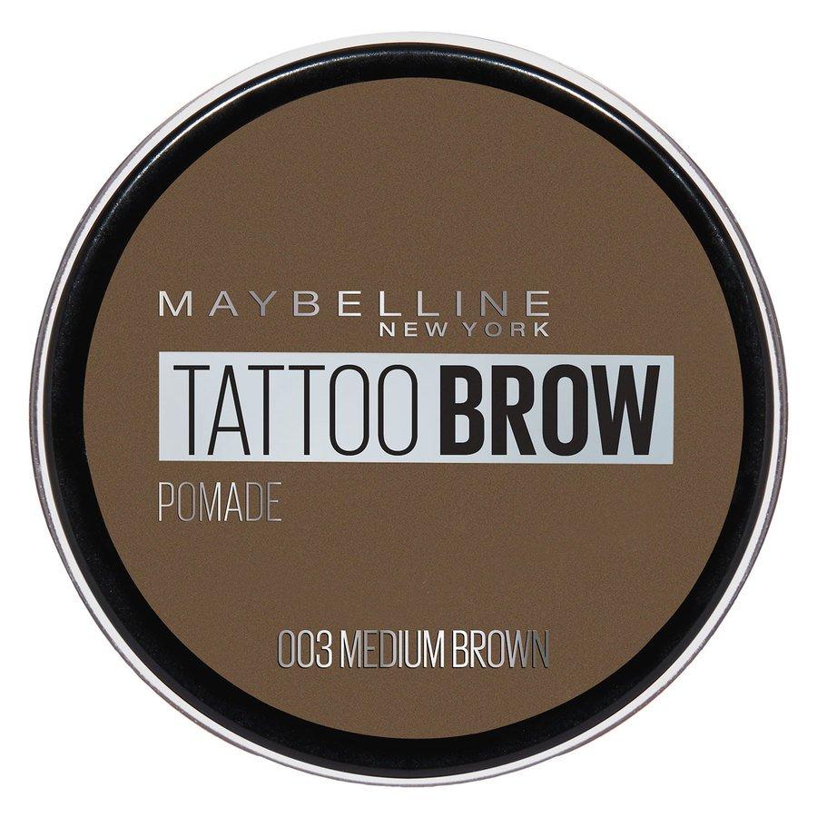 Maybelline Tattoo Brow Pomade Pot, Medium Brown
