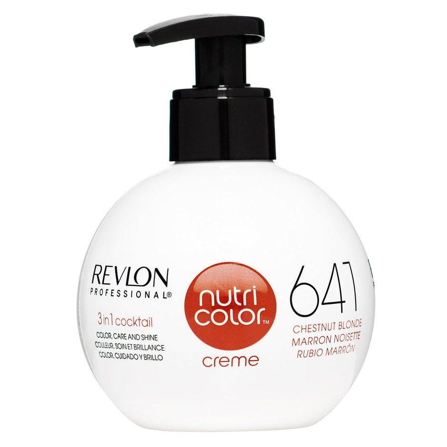 Revlon Professional Nutri Color Creme, #641 Chestnut Blonde (270ml)