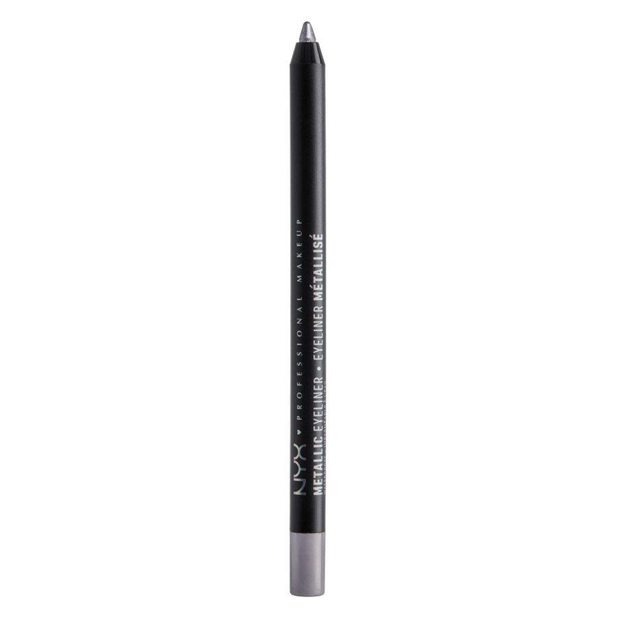 NYX Professional Makeup Metallic Eyeliner, Silver