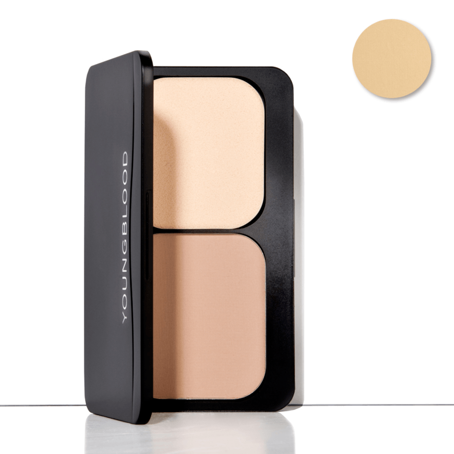 Youngblood Pressed Mineral Foundation, Soft Beige (8 g)