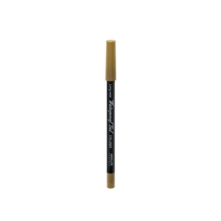 Absolute New York Waterproof Gel Eye Liner, Gold NFB81
