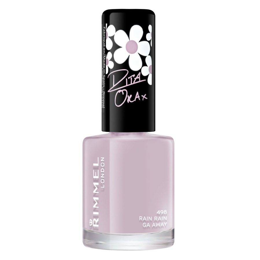 Rimmel London 60 Seconds Super Shine Nail Polish, # 498 Rain Ra (8 ml)