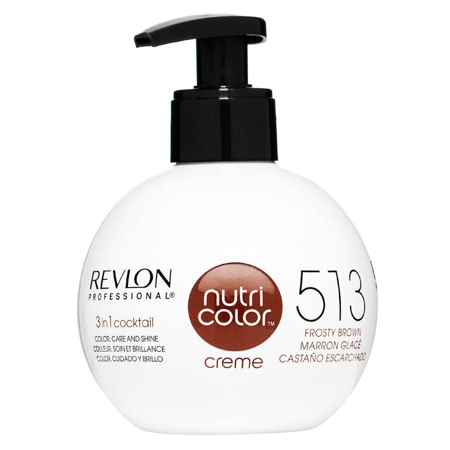 Revlon Professional Nutri Color Creme, #513 Deep Chestnut (270ml)