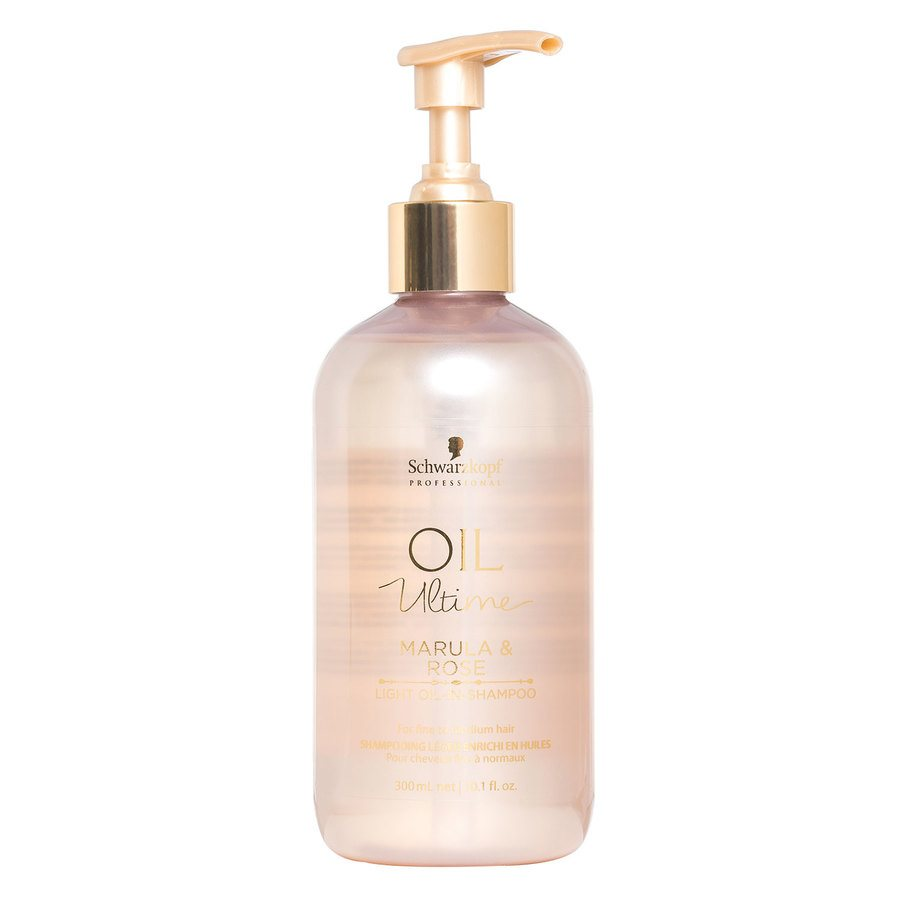 Schwarzkopf Oil Ultime Marula & Rose Light Oil-In-Shampoo (300 ml)