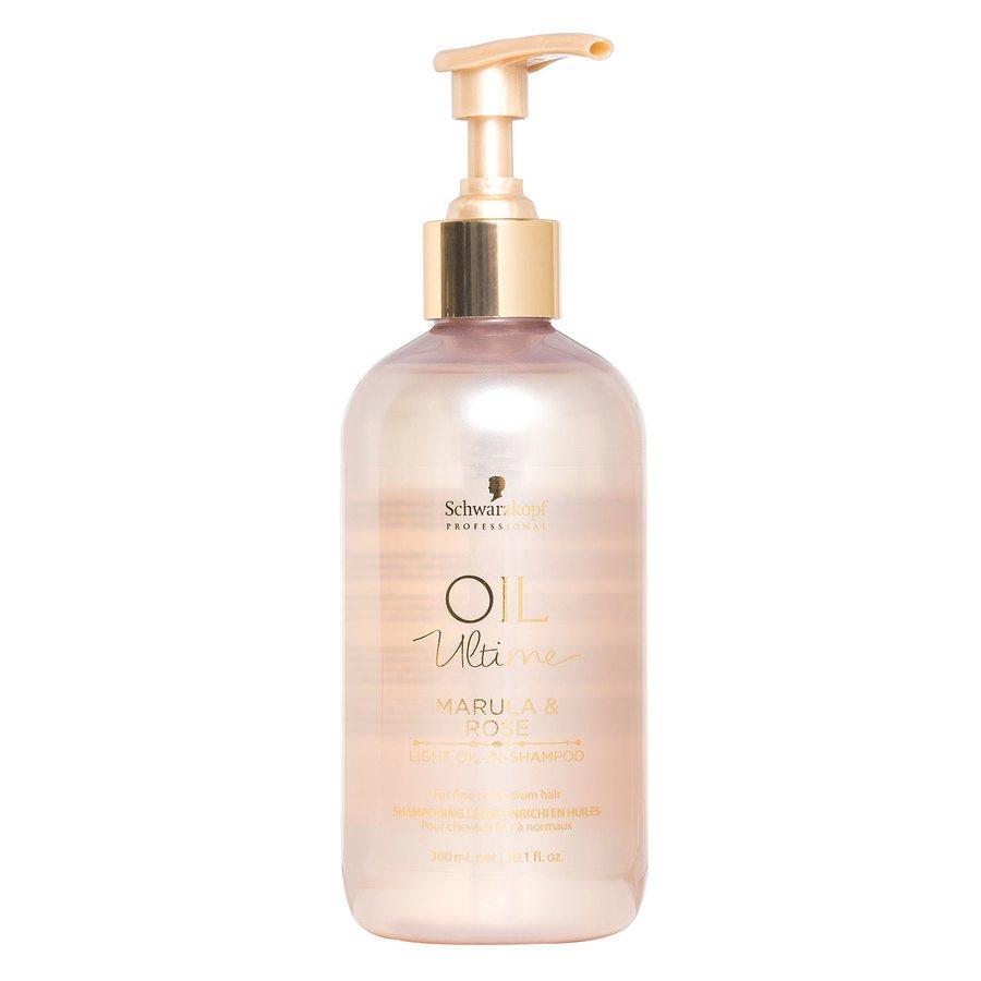 Schwarzkopf Oil Ultime Marula & Rose Light Oil-In-Shampoo (300 ml)