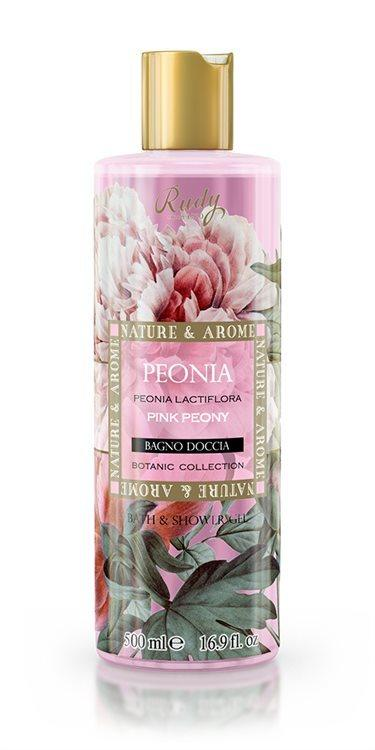 Nature & Arome Bath & Shower Gel, Pink Peony (500 ml)