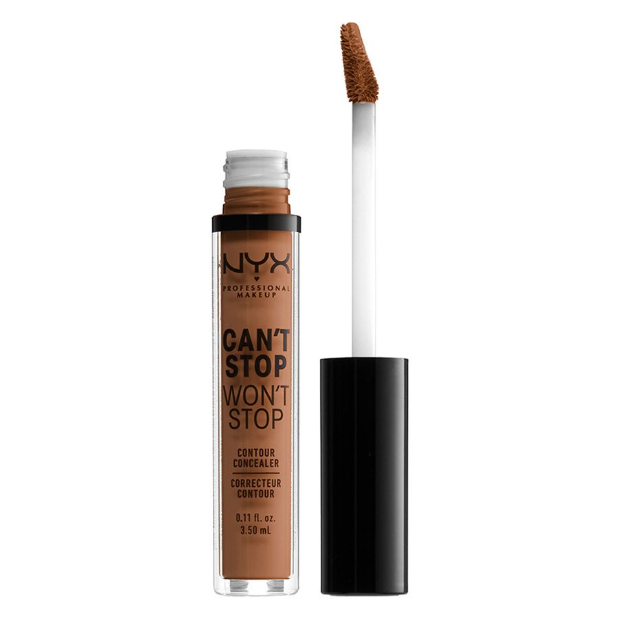 NYX Professional Makeup Can't Stop Won't Stop Contour Concealer (3,5ml), Warm Caramel