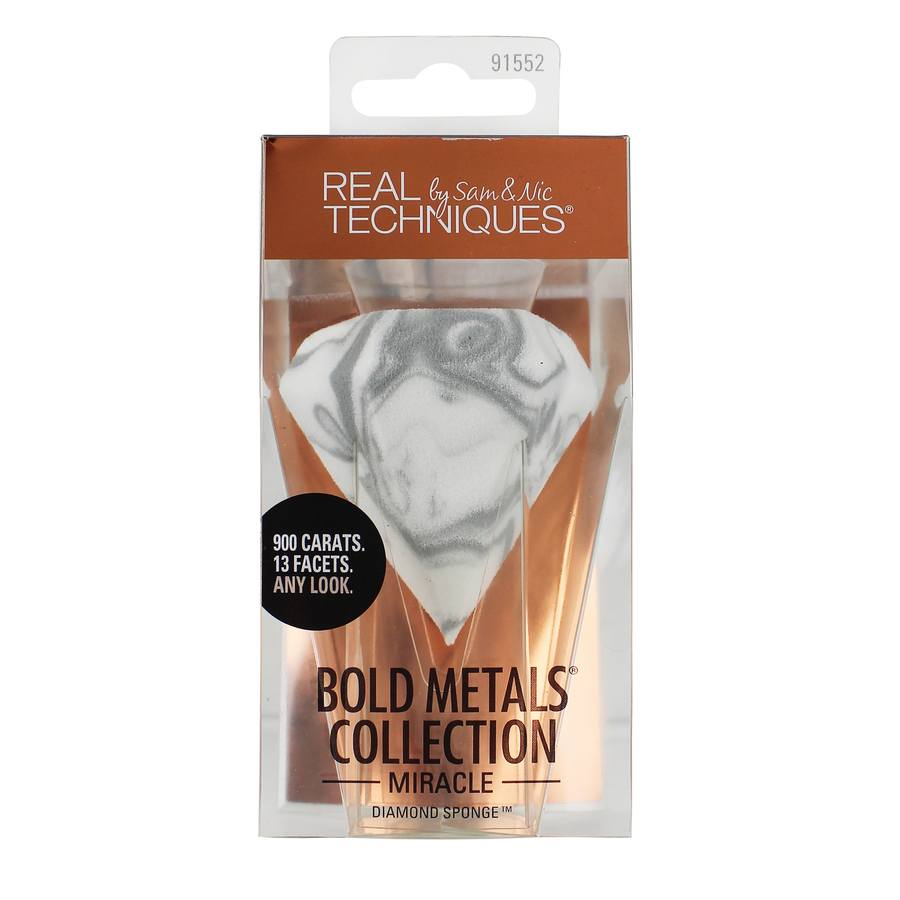 Real Techniques Bold Metals Miracle Diamond Sponge Schwamm