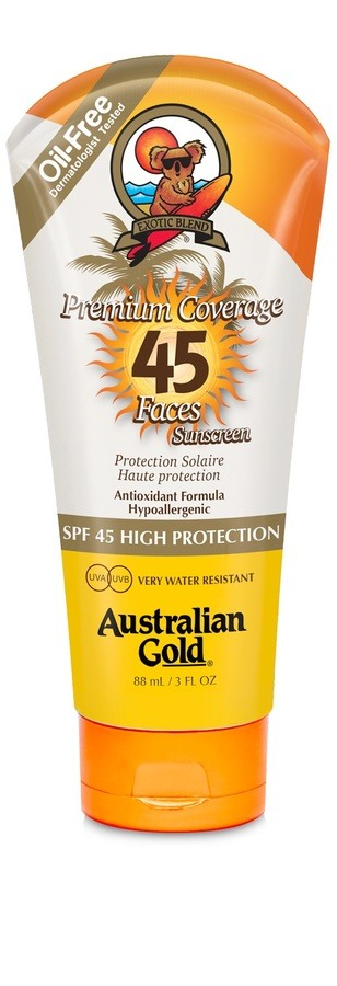Australian Gold Premium Coverage Faces SPF 45 (88 ml)
