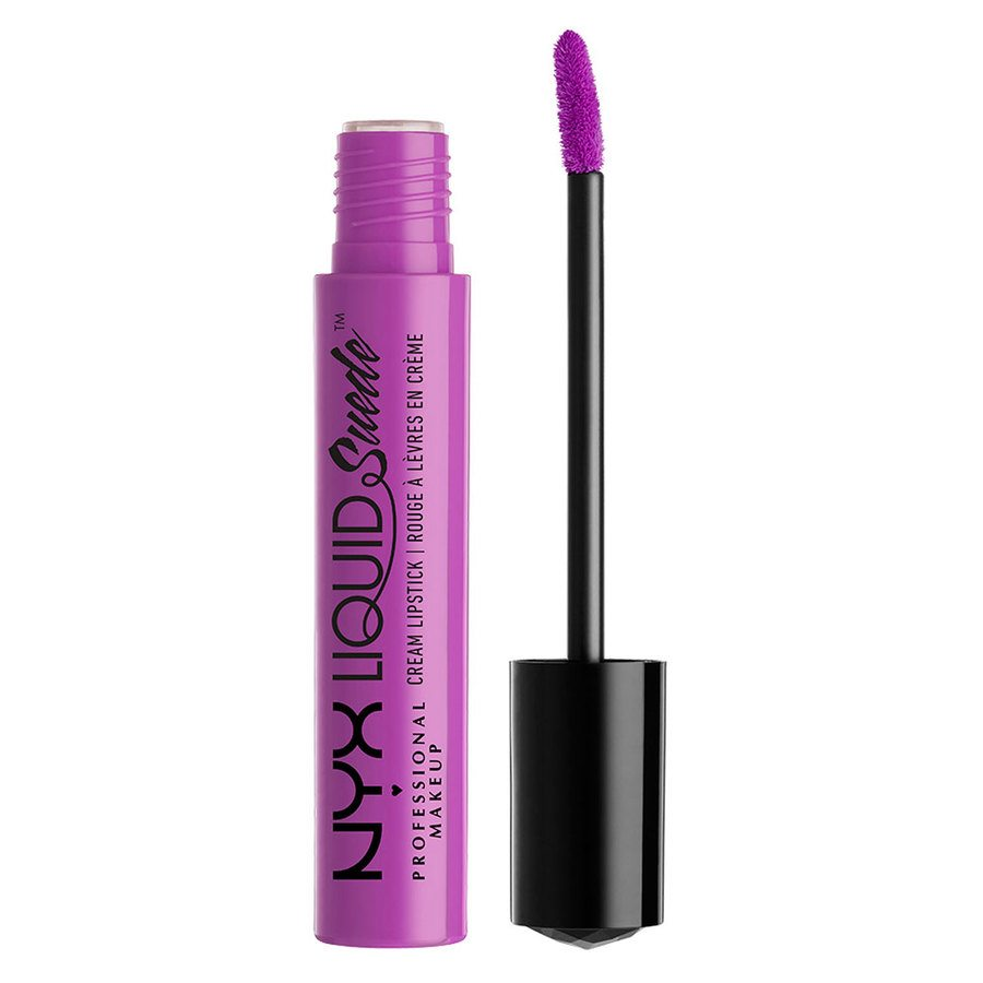 NYX Professional Makeup Liquid Suede Cream Lipstick, Sway