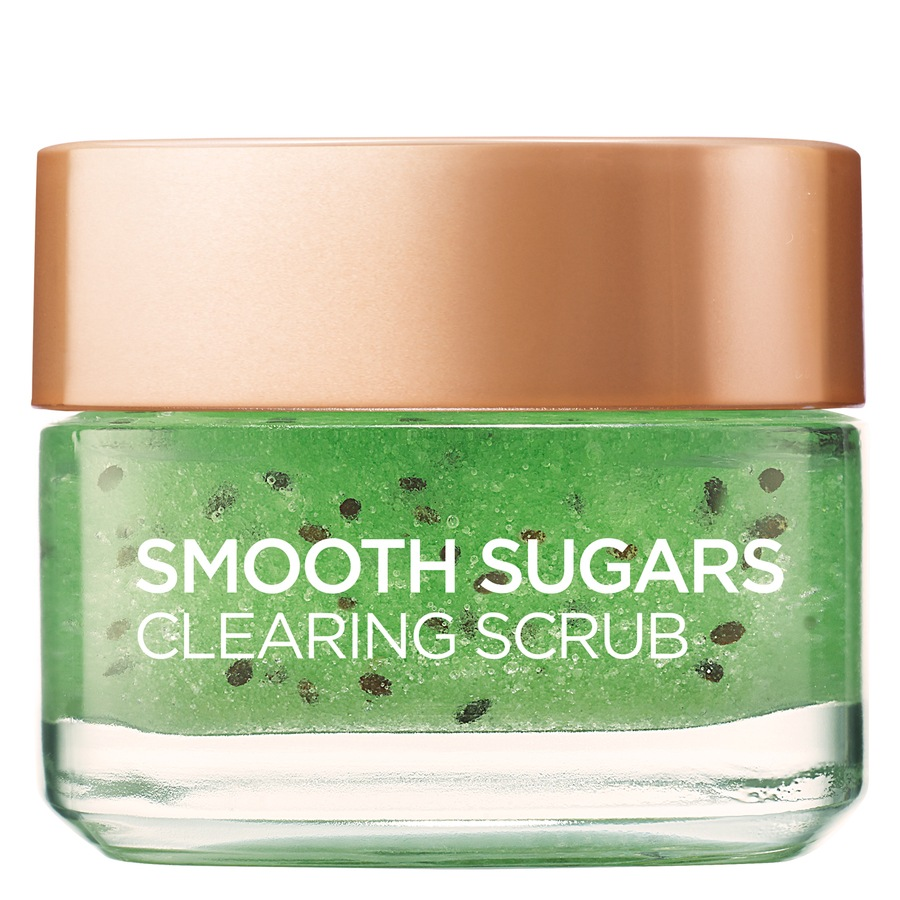 L'Oréal Paris Smooth Sugar Scrub Clearing Kiwi (50 ml)