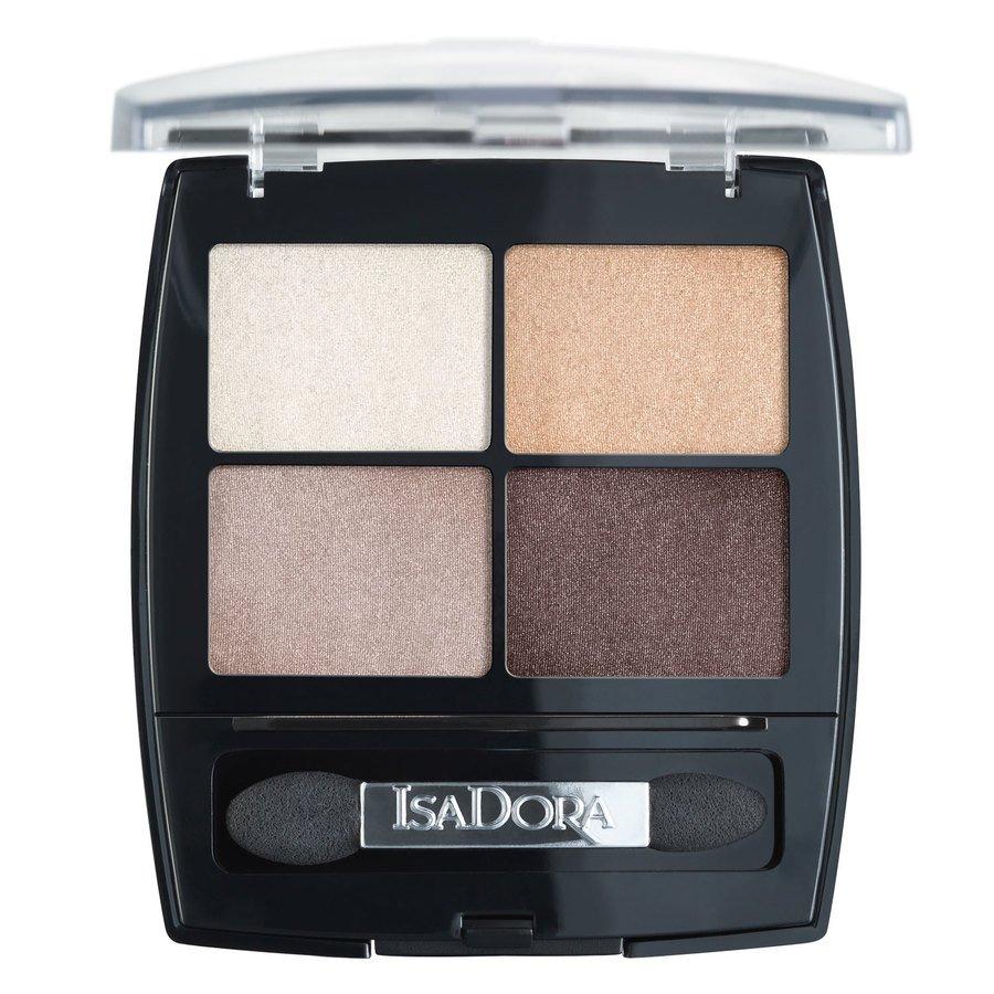 IsaDora Eyeshadow Quartet, 35 Pearls (5 g)