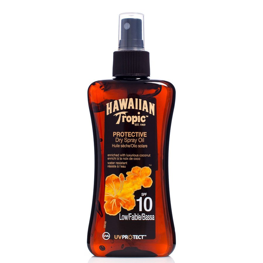 Hawaiian Tropic Protective Dry Oil Spray LSF10 (200 ml)