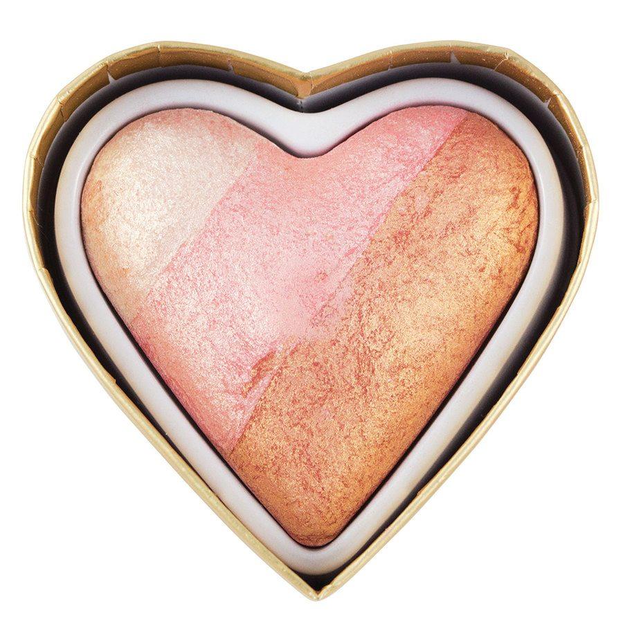 Makeup Revolution I Heart Makeup Blushing Hearts Blusher Iced Hearts