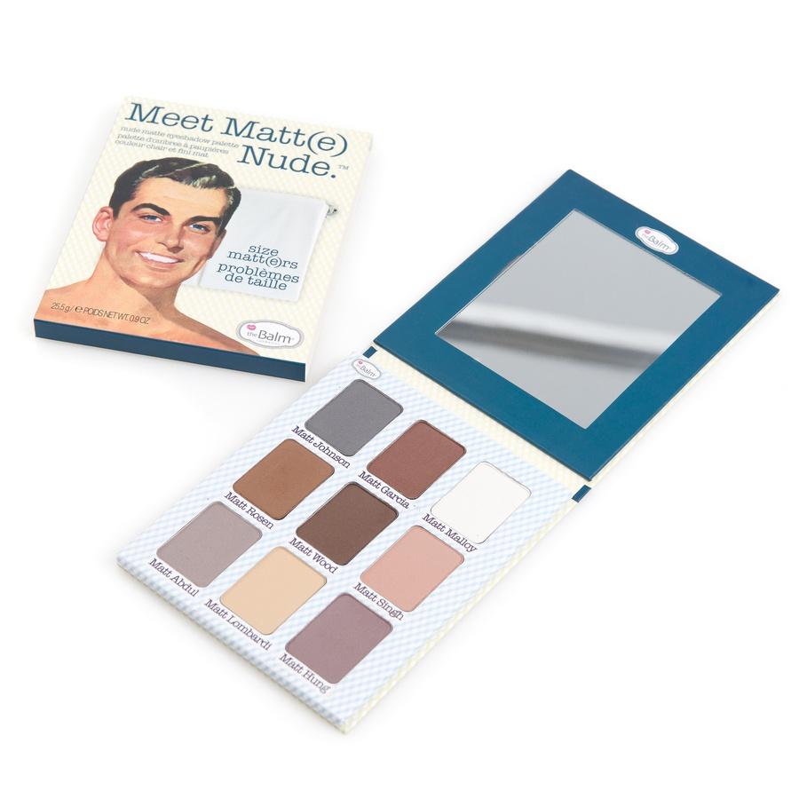 theBalm Meet Matt(e) Nude Palette Lidschatten-Set mit 9 Farben