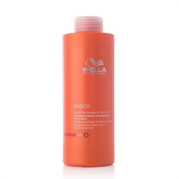 Wella Professionals Enrich Shampoo Dickes/kräftiges Hair (1000 ml)