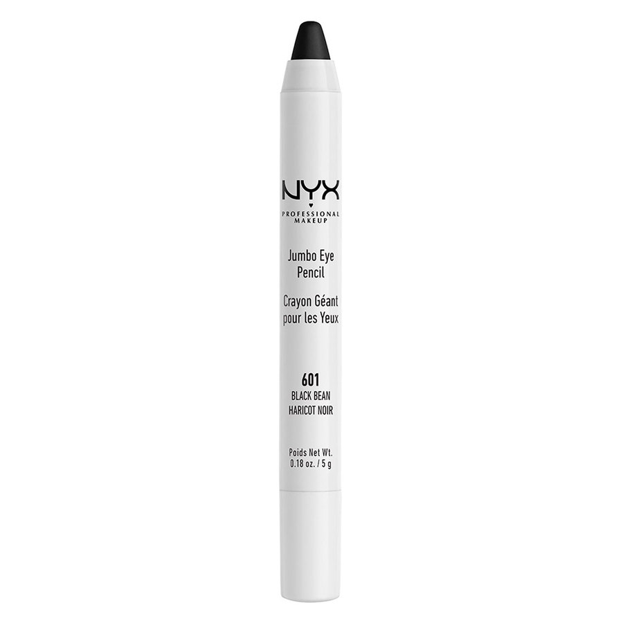 NYX Prof. Makeup Jumbo Eye Pencil, Black Bean