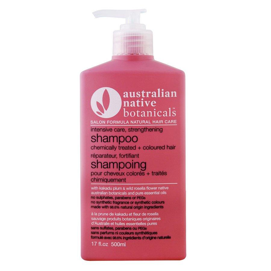 Native Australian Botanicals Strengthening Shampoo For Chemically Treated & Coloured Hair (500ml)