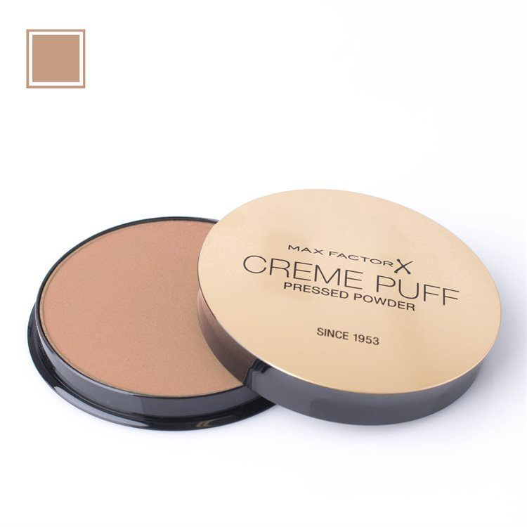 Max Factor Creme Puff Pressed Powder Puder, 05 Translucent (21 g)