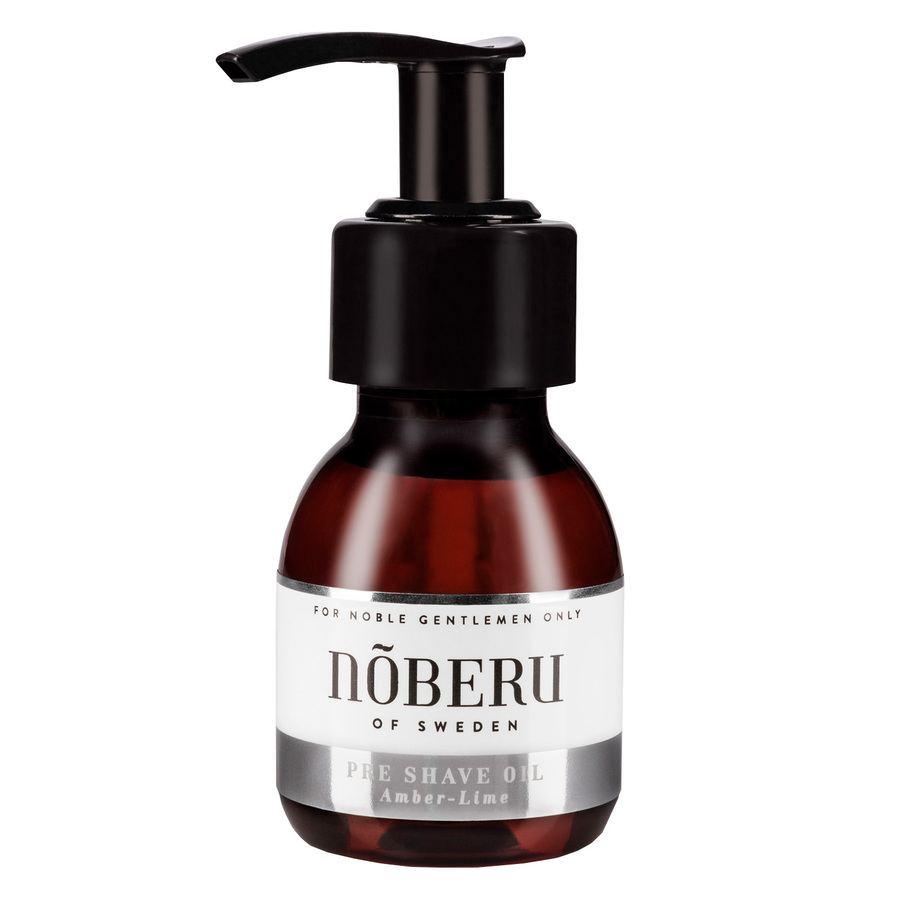 Nõberu Pre-Shave Oil, Amber-Lime (60ml)