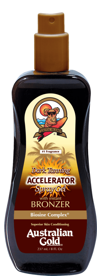 Australian Gold Dark Tanning Accelerator Spray Gel (237 ml)