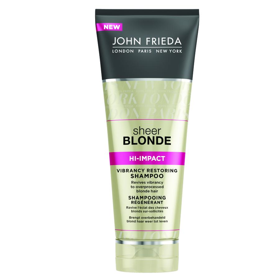 John Frieda Sheer Blonde Hi-Impact Vibrancy Restoring Shampoo (250ml)