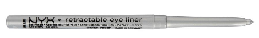 NYX Mechanical Pencil Eye Eyeliner, Silber