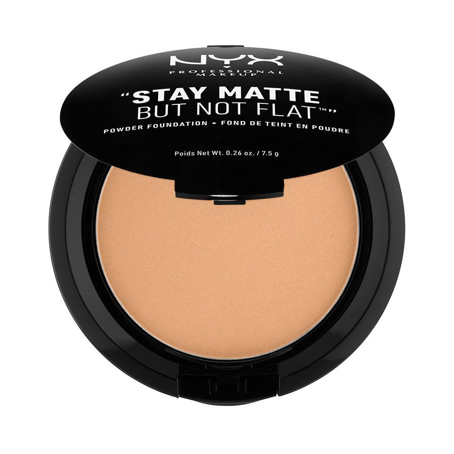 NYX Prof. Makeup Stay Matte But Not Flat Powder, Caramel
