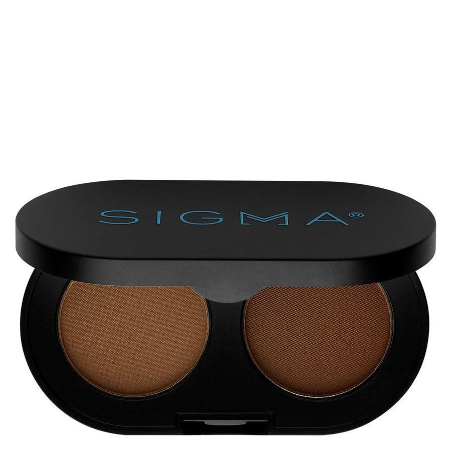 Sigma Color And Shape Brow Powder Duo, Medium (3 g)