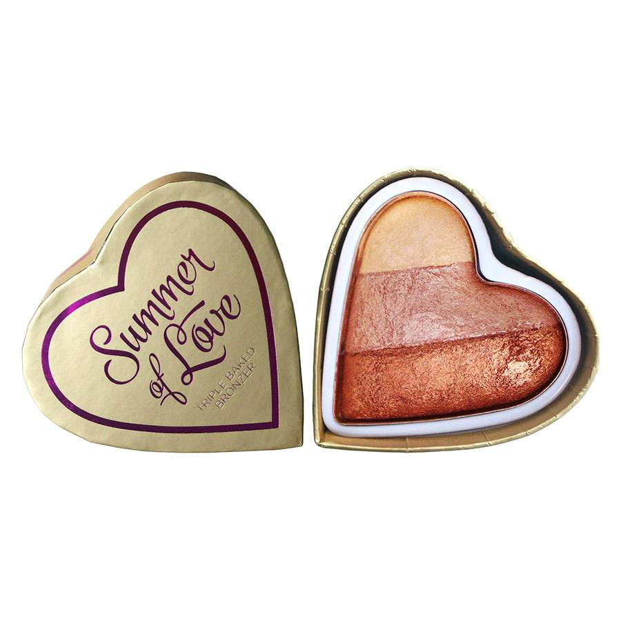 I Heart Revolution Blushing Hearts Bronzer Hot Summer Of Love