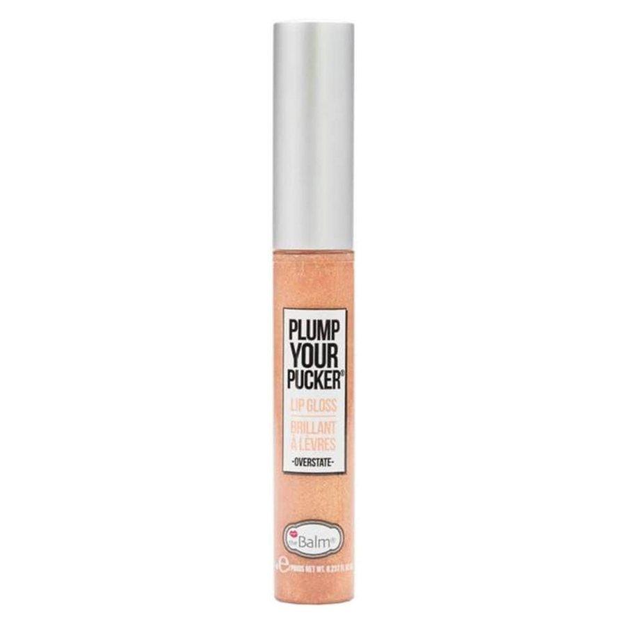 theBalm Plump Your Pucker Lip Gloss, Overstate 7ml