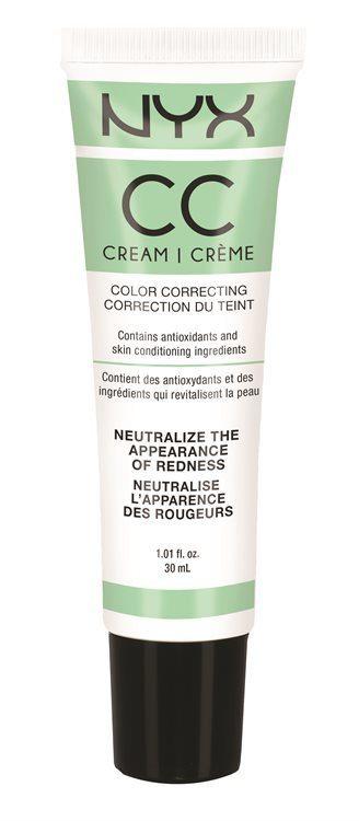 NYX CC Cream (30 ml), Green Light/Medium