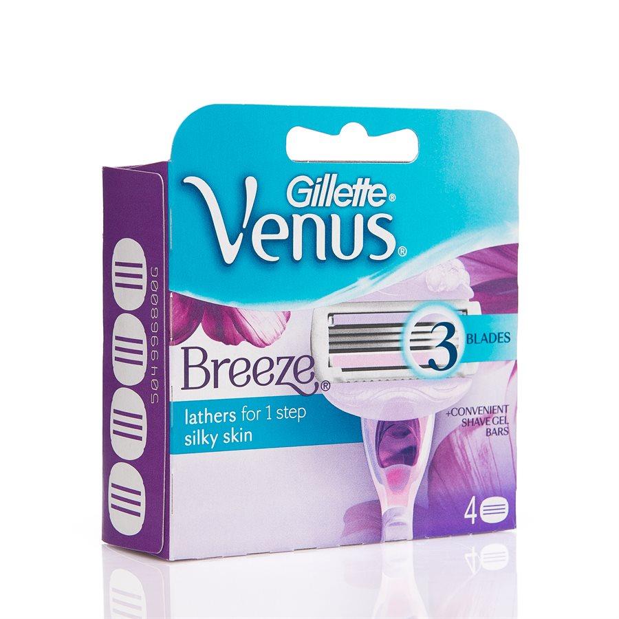 Gillette Venus Breeze (4-teilig)