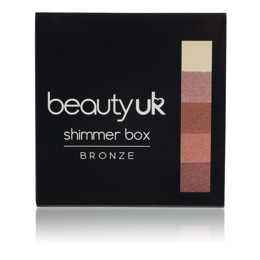 Beauty UK Shimmer Box, Nr. 1 Bronze