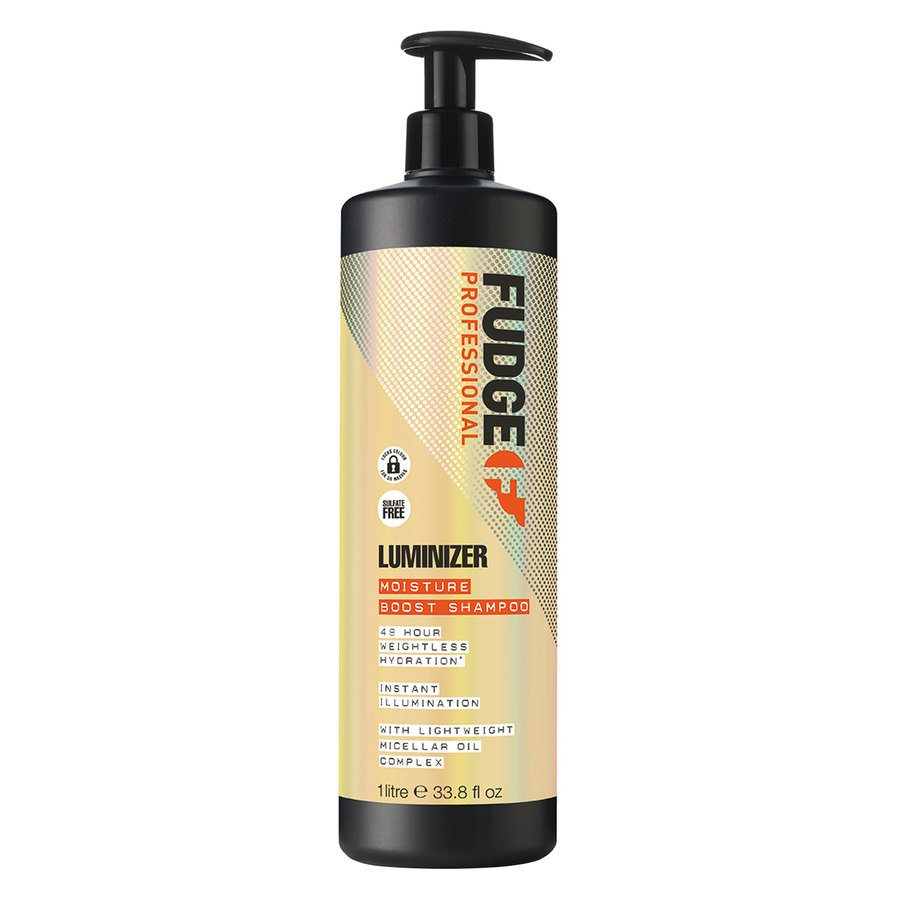 Fudge Luminizer Moisture Boost Shampoo (1000 ml)