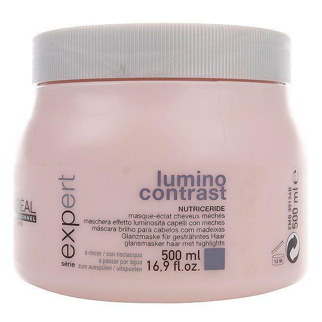 L'Oréal Professionnel Série Expert Lumino Contrast Mask Haarkur (500ml)