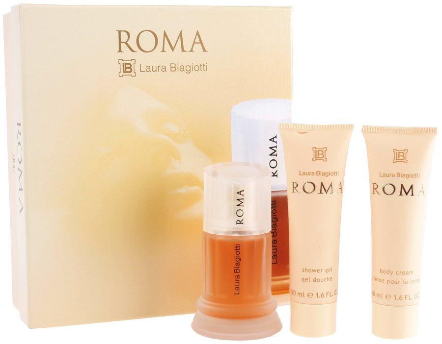 Laura Biagiotti Roma Eau De Toilette For Women (Geschenkset 3 x 50 ml)