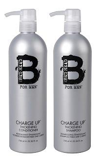 TIGI Bed Head For Men B Charge Up Shampoo & Conditioner (2 x 750 ml)