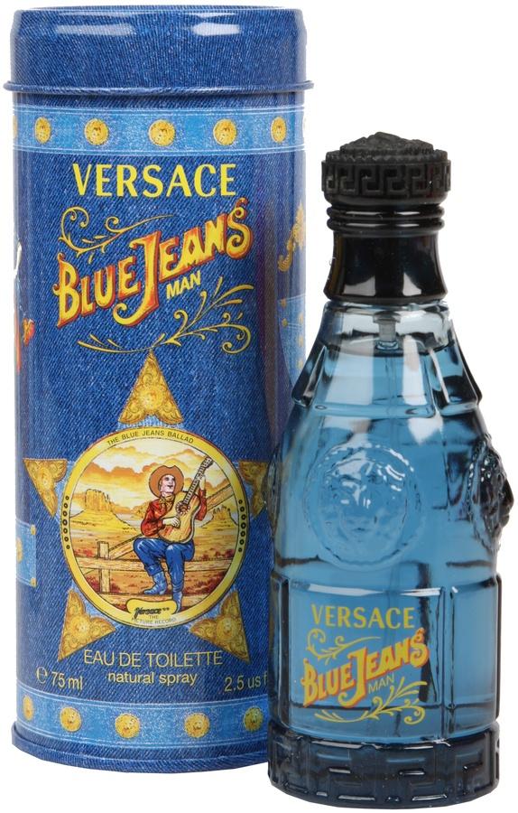 Versace Versus Blue Jeans Eau De Toilette For Men (75 ml)