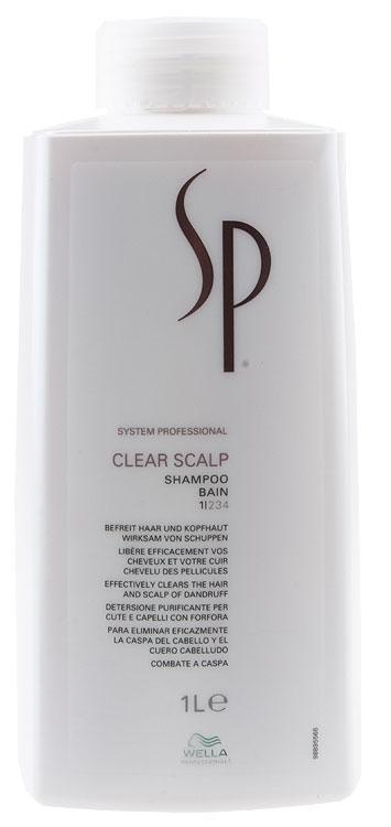 Wella SP Clear Scalp Shampoo (1000 ml)