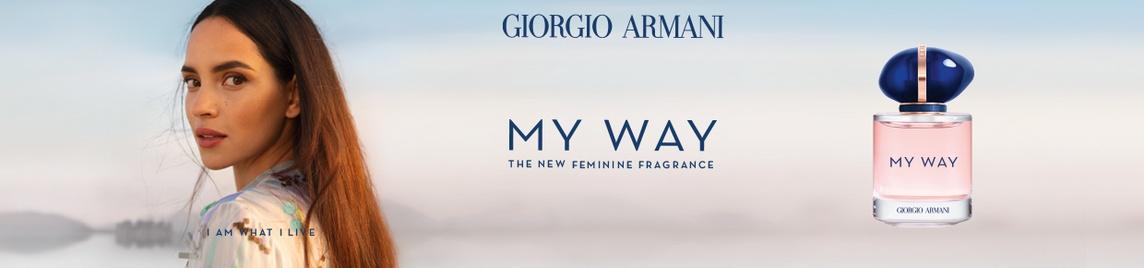 Giorgio Armani banner