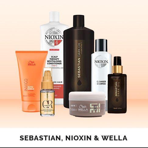 Sebastian, Nioxin, Wella