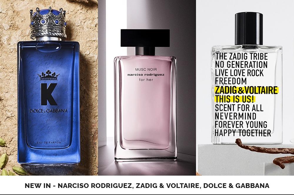 Narciso Rodriguez, Zadig & Voltaire, Dolce & Gabbana